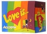 Жевательная резинка LOVE IS АССОРТИ блок 100шт