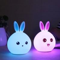 Ночник светильник с Пультом USB Silicone lamp силиконовый