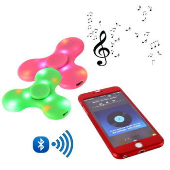Спиннер Bluetooth Музыкальный Светящийся