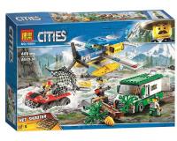 Конструктор 10864 Cities 409 дет. Ограбление у горной реки