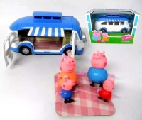 Набор свиней кемпинг автобус (свинка)