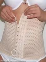 Утягивающий пояс под одежду (размер XXL)