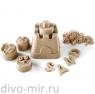Космический песок 2 кг. Песочница+Формочки Классический (коробка)