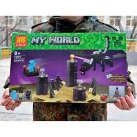 Конструктор Дракон Края 79073 Micro World Майнкрафт 634