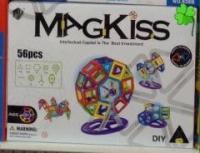 Магнитный конструктор Mag Kiss 56 деталей