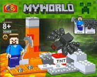 Конструктор CB TOYS MINECRAFT MY WORLD 8+ 18x14x5 Арт.30988