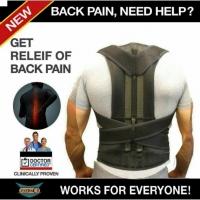Фиксирующий корсет для спины Get Relief of Back Pain корректор р-р 3XXL