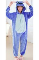 Пижама Кигуруми Стич Синий размер М (160-170см)