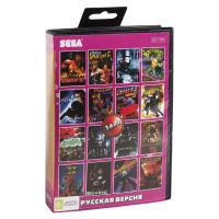 Картридж Sega 16в1 ROBOCOP 3 /RAMBO 3
