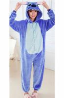 Пижама Кигуруми Стич Синий размер S (150-160см)