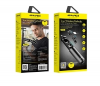 Беспроводные наушники Awei T55 True Wireless Earbuds 360mAh case