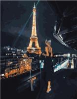 Картина по номерам PK 51048 Мерцающий Париж 40*50 Эксклюзив