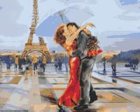 Картина по номерам HS0078 Французский поцелуй