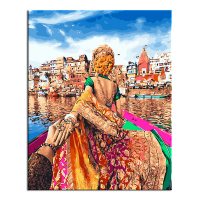 Картина по номерам HS0117 Следуй за мной в Индию
