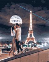 Картина по номерам ZX 23835 Свет Парижской любви 40*50