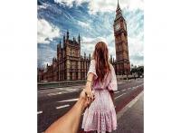 Картина по номерам Q3617 Следуй за мной. Лондон 40*50