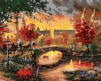 Картина по номерам ZX 22351 Осенний вечер 40*50